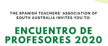 22nd October: Encuentro virtual de Profesores