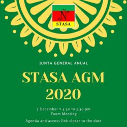 7 December: STASA AGM