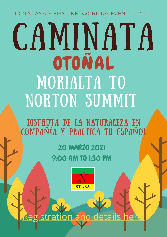 20 March: Caminata Otoñal Network Event